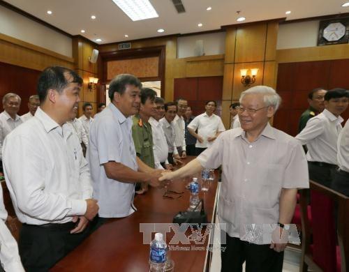 Le chef du Parti exhorte Tay Ninh a exploiter au mieux ses potentiels hinh anh 1