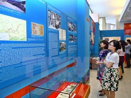 Celebration du depart du president Ho Chi Minh pour le salut national hinh anh 1
