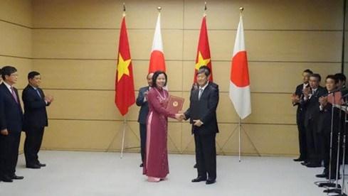 166 milliards de yens d'APD pour trois grands projets du Vietnam hinh anh 1