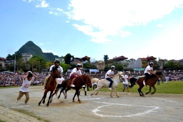 Originalite de la course de chevaux de Bac Ha hinh anh 1