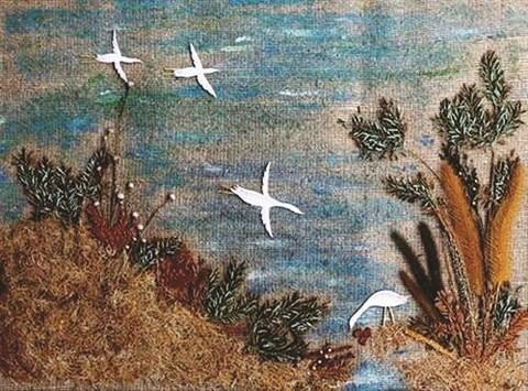 La peinture en herbes, un art des plus singuliers hinh anh 2