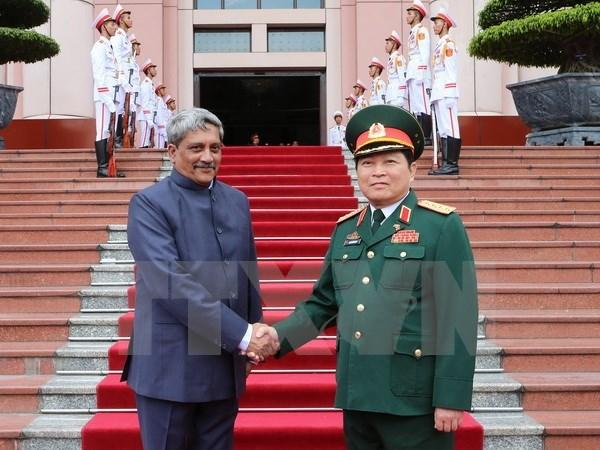 Vietnam-Inde : renforcement de la cooperation dans la defense hinh anh 1
