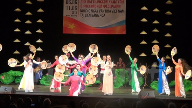 Les journees de la culture vietnamienne en Russie 2016 hinh anh 1