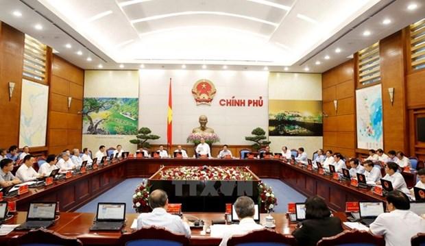 Approbation d'un document sur le statut du travail du gouvernement hinh anh 1