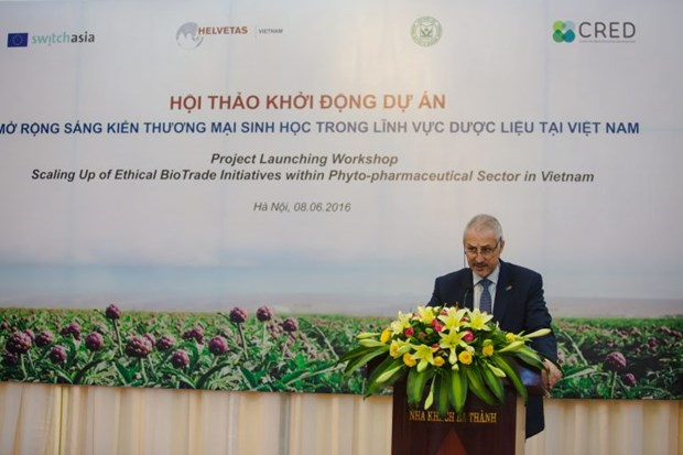 L'UE soutient le developpement durable du secteur phytopharmaceutique au Vietnam hinh anh 1