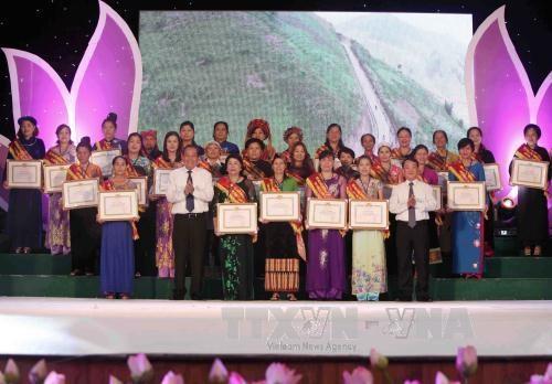Hommage aux femmes d'affaires exemplaires du Tay Bac hinh anh 1