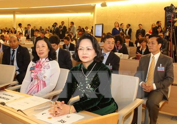 Le Vietnam participe a la 32e session du Conseil des droits de l'homme a Geneve hinh anh 1