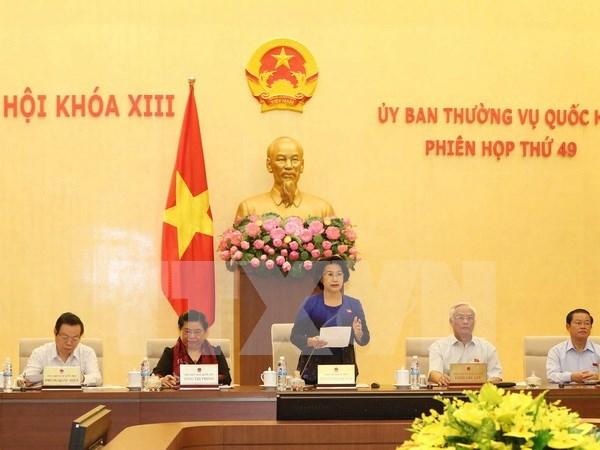 La 49e reunion du Comite permanent de l'Assemblee nationale hinh anh 1