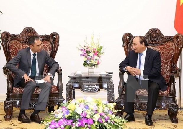 Nguyen Xuan Phuc recoit les ambassadeurs malaisien et thailandais hinh anh 1