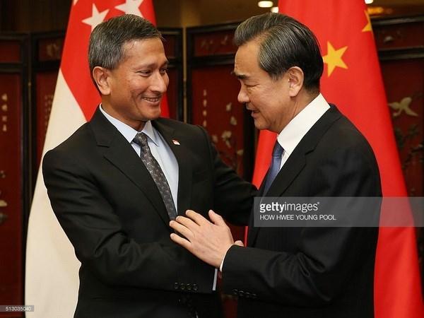 Singapour pret a servir de passerelle entre l'ASEAN et la Chine hinh anh 1