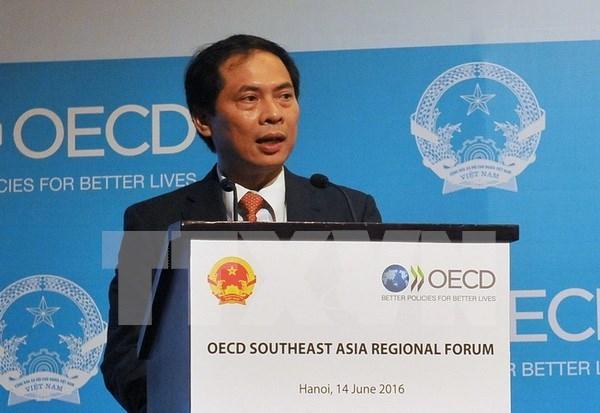 Le 3e Forum de l'OCDE en Asie du Sud-Est a Hanoi hinh anh 1