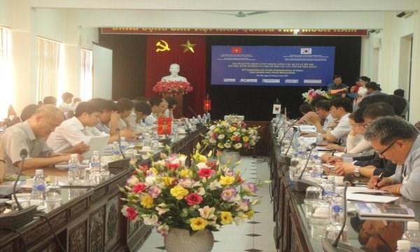 Gestion urbaine: Hanoi et Seoul partagent d'experiences dans l'application des TI hinh anh 1