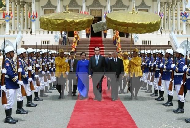 Declaration commune Vietnam-Cambodge hinh anh 1