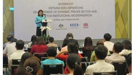 Vers un Vietnam prospere, innovant, equitable et democratique en 2035 hinh anh 1