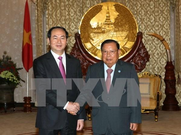 Developpement des relations avec le Laos et le Cambodge hinh anh 1
