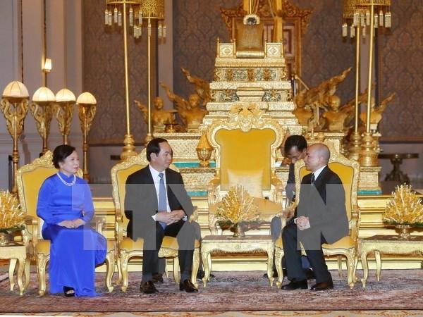 Developpement des relations avec le Laos et le Cambodge hinh anh 2