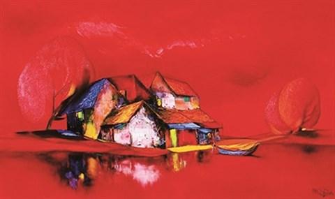 Cinq œuvres d'art vietnamiennes s'envolent aux premieres encheres a Hanoi hinh anh 3