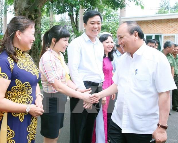 Le PM Nguyen Xuan Phuc se rend dans la province de Dak Lak hinh anh 1