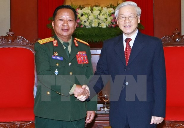 Approfondir l'amitie traditionnelle, la solidarite speciale et la cooperation integrale Vietnam-Laos hinh anh 1
