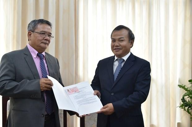 Remise de l'attestation de consul d'honneur du Vietnam en Nouvelle-Caledonie hinh anh 1