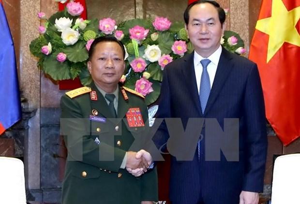 Approfondir l'amitie traditionnelle, la solidarite speciale et la cooperation integrale Vietnam-Laos hinh anh 2