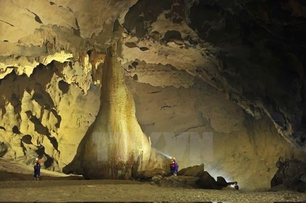 Decouverte de 57 nouvelles grottes a Quang Binh hinh anh 1
