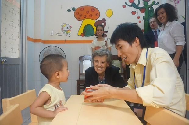 L'ONU aide le Vietnam a perfectionner son systeme national de protection de l'enfance hinh anh 1