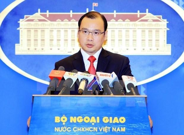 Le Vietnam demande a la Chine de mettre fin a ses actes illegaux sur Hoang Sa et Truong Sa hinh anh 1