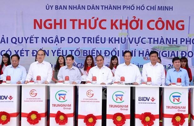Deux projets importants mis en chantier a Ho Chi Minh-Ville hinh anh 1