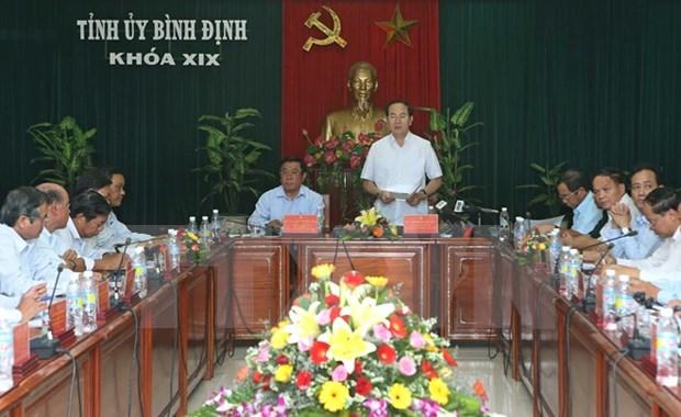 La province de Binh Dinh est appelee a devenir un centre economique maritime hinh anh 1