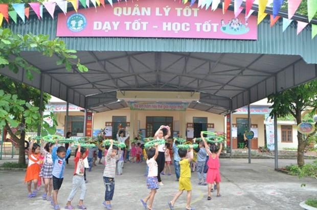 Thanh Hoa construit pres de 200 salles de classe dans des districts demunis hinh anh 1