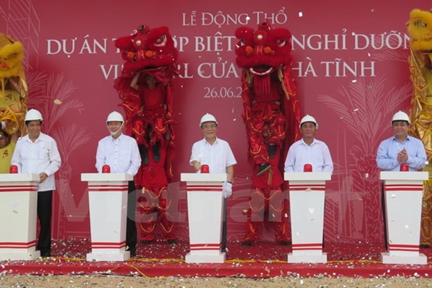 Vingroup : mise en chantier des zones de villegiature de luxe a Nghe An et Ha Tinh hinh anh 2