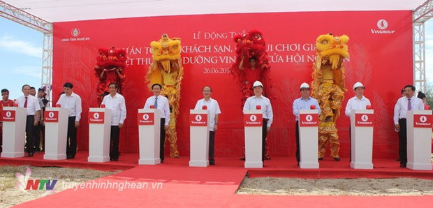 Vingroup : mise en chantier des zones de villegiature de luxe a Nghe An et Ha Tinh hinh anh 1