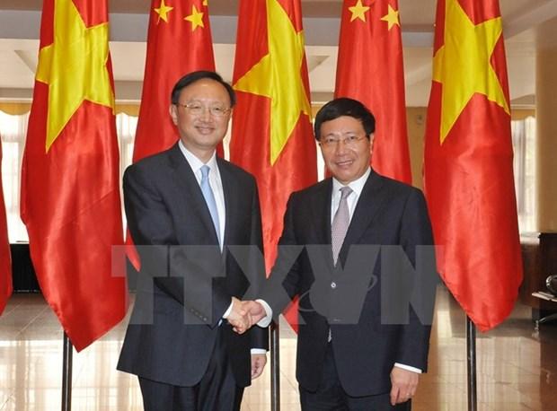 9e reunion du Comite de pilotage de la cooperation Vietnam-Chine hinh anh 1