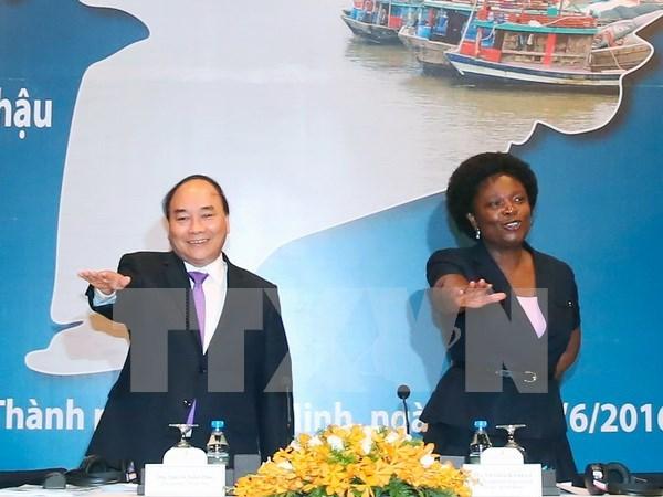 Le PM Nguyen Xuan Phuc au Forum du delta du Mekong 2016 hinh anh 1