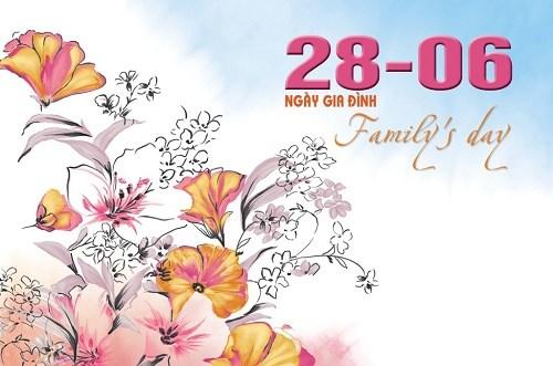 Celebration de la Journee de la famille vietnamienne hinh anh 1