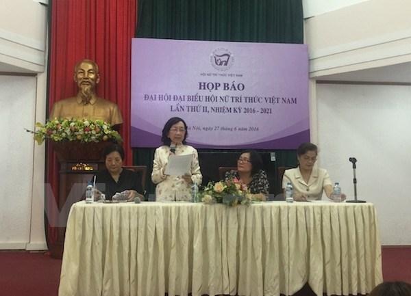 Pres de 400 deleguees participeront au 2e Congres des femmes intellectuelles hinh anh 1