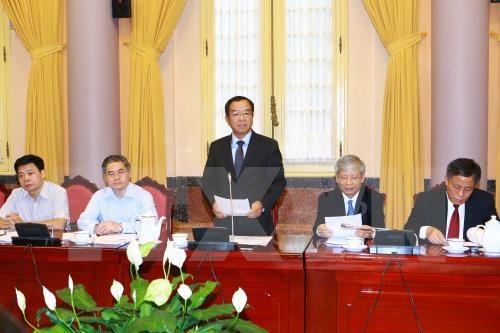 L'entree en vigueur du Code penal 2015 a ete differee hinh anh 1
