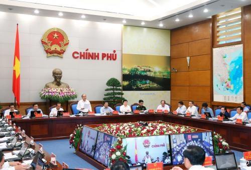 Le PM preside une video-conference sur le developpement socio-economique hinh anh 1