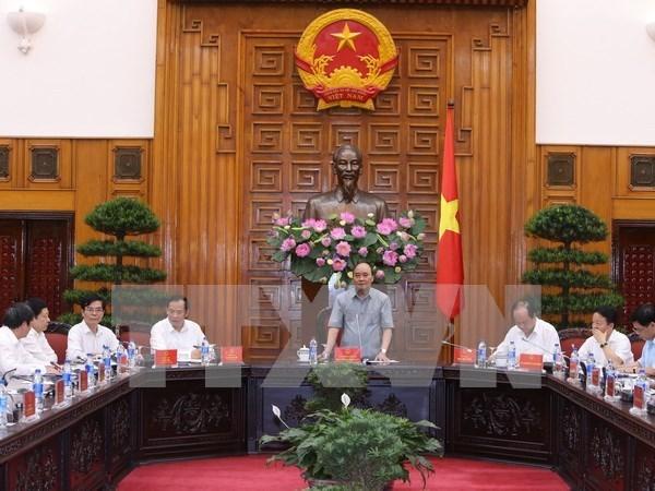 Le PM soutient la production de legumes high-tech a Hai Duong hinh anh 1