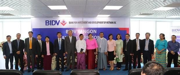 La BIDV obtient une licence bancaire pour operer au Myanmar hinh anh 2