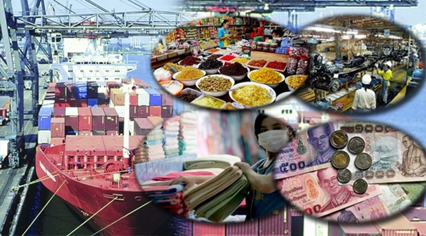 Les exportations thailandaises en baisse de pres de 2% en 5 mois hinh anh 1