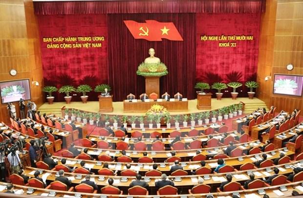 Le 3e Plenum du Comite central du Parti se poursuit hinh anh 1