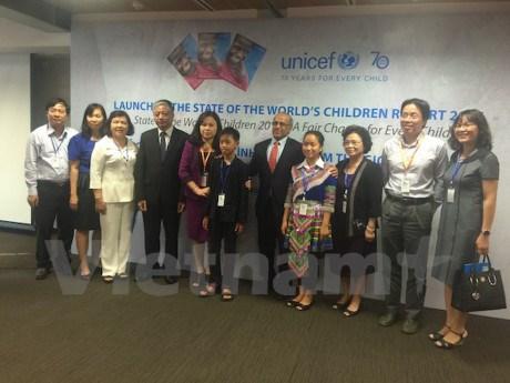 L'UNICEF publie son rapport sur la situation des enfants dans le monde 2016 hinh anh 1