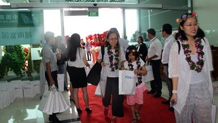 Inauguration de la ligne aerienne Guangzhou-Phu Quoc hinh anh 1
