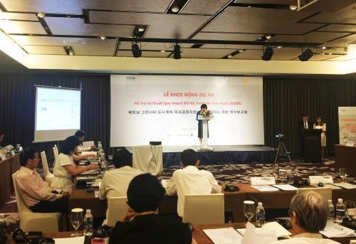 La R. de Coree soutient le developpement des villes vertes au Vietnam hinh anh 1