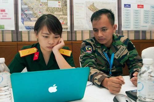 Le Vietnam enverra des femmes officiers aux operations de maintien de la paix de l'ONU hinh anh 1