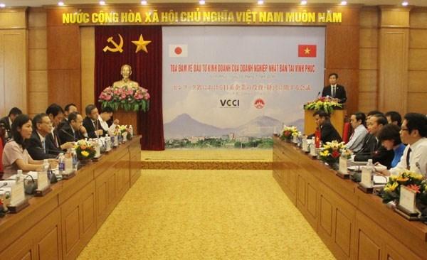 Vinh Phuc favorise les activites des entreprises japonaises hinh anh 1