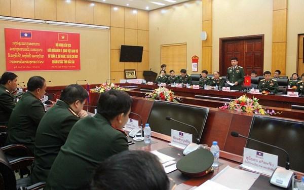 Vietnam-Laos: Intensification de la cooperation entre les unites militaires hinh anh 1
