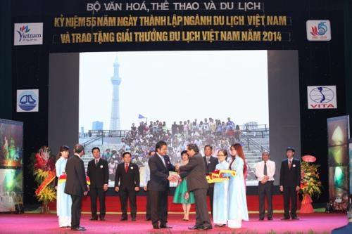 Distinction des meilleures entreprises de tourisme du Vietnam en 2016 hinh anh 1